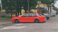 Seorang pemilik mobil Volvo menyulap mobilnya tersebut menyerupai sebuah model dari Rolls-Royce.