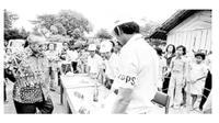 Presiden kedua RI Soeharto memangkas partai politik pada era Orde Baru. (Merdeka.com)