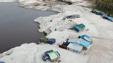 Tambang Emas Ilegal di Ketapang, Kalimantan Barat