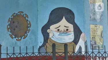 Mengajak Masyarakat Disiplin Protokol Covid-19 Lewat Mural Inbox