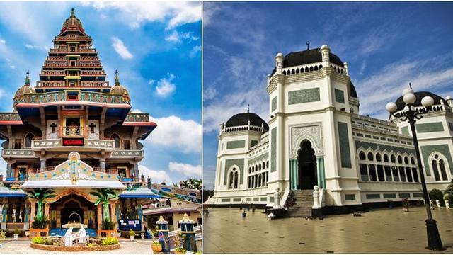 8 Tempat Wisata Di Kota Medan Yang Berarsitektur Indah Dan