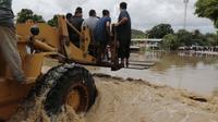 Topan Iota di Nikaragua. Dok: AP Photo/Delmer Martinez