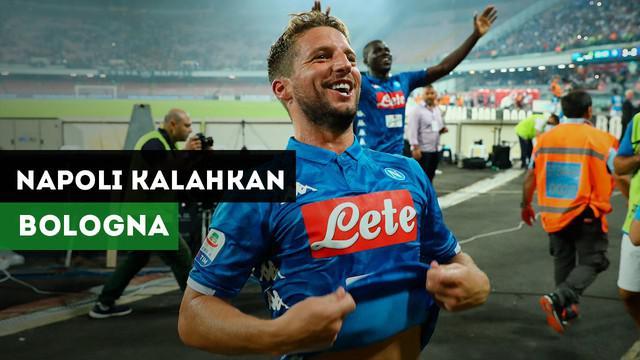 Berita Video Highlights Liga Italia 2018, Gol Telat Mertens Menangkan Napoli