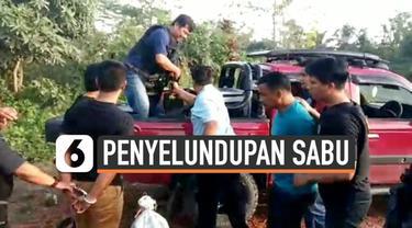 Badan Narkotika Nasional (BNN) menggagalkan penyelundupan 38 kg sabu di Kalimantan Timur.