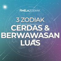 3 Zodiak Cerdas dan Berwawasan Luas