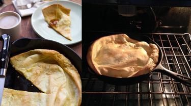 Dutch Baby, Pancake Panggang ala Jerman (hold)
