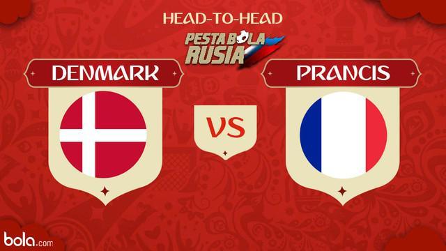 Berita video head-to-head Piala Dunia Rusia 2018: Denmark vs Prancis.