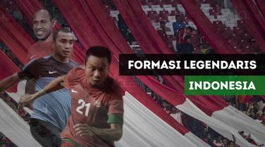 Berita video formasi legendaris pemain Timnas Indonesia di Piala Asia.