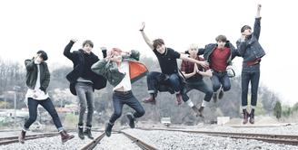 Memang sudah tak diragukan lagi popularitas dari BTS, tak hanya di Korea Selatan saja. Namun nama BTS sudah terkenal sampai Amerika Serikat. (Foto: Soompi.com)