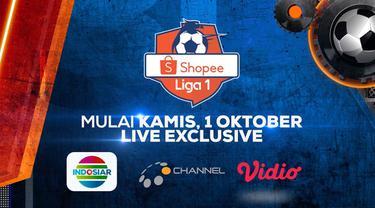 Berita Video 30 Hari Jelang Kembalinya Shopee Liga 1, Hanya di Indosiar, O'Channel dan Vidio