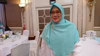 Galuh Sukmara Soejanto, pendiri The Little Hijabi, rumah belajar yang dikhususkan untuk anak-anak tuli dengan pimpinan, guru, hingga staf kebersihan merupakan teman tuli. (Liputan6.com/Dinny Mutiah)