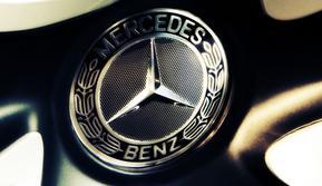 Logo Mercedes-Benz.