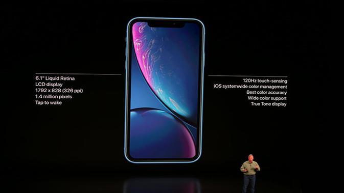 Apple umumkan iPhone XR, iPhone terjangkau di gelaran Apple Event, Rabu (12/9/2018). (Foto: Apple)#source%3Dgooglier%2Ecom#https%3A%2F%2Fgooglier%2Ecom%2Fpage%2F%2F10000
