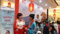 BNI-Japan Airlines Travel Fair 2019 di Jakarta. foto: dok.Image Dynamics