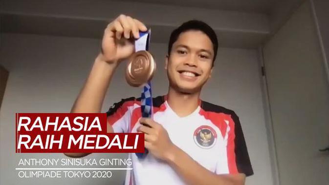 VIDEO: Rahasia Anthony Sinisuka Ginting Raih Medali di ...