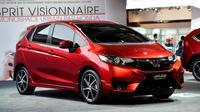 Honda Jazz 2015 ikut menjadi model yang dipamerkan di Paris Auto Show.