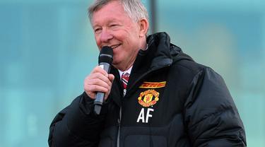 Alex Ferguson (AFP PHOTO/PAUL ELLIS)