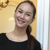 Kalina Oktarani dan anaknya (Adrian Putra/Fimela.com)