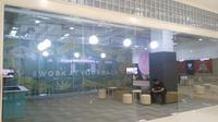 Coworking space di mal pertama kali dibuka di Yogyakarta (Liputan6.com/ Switzy Sabandar)
