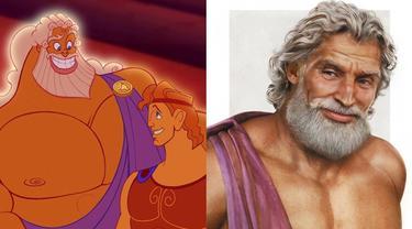 Pria Ini Ubah Karakter Disney dalam Ilustrasi Nyata, 5 Hasilnya Bikin Takjub