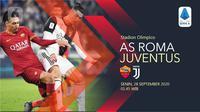 AS Roma vs Juventus (Liputan6.com/Abdillah)