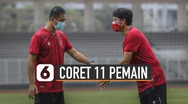 Pemusatan latihan (TC) Timnas U-19 Indonesia baru dimulai Jumat (7/08/2020) lalu. Alasan Shin Tae-Yong coret 11 pemain bukan karena kalah bersaing, namun pengurangan dan pemilihan pemain.