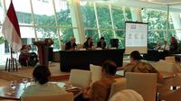 Suasana diskusi USINDO tentang isu pengaruh China dan AS di kawasan Asia Tenggara (Liputan6.com/Happy Ferdian Syah Utomo)