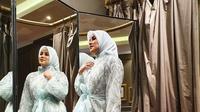 Penampilan cantik Olla Ramlan banjir doa agar istiqomah. (Liputan6.com/IG/@ollaramlanaufar)