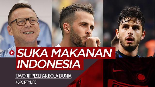 Berita video Sportylife kali ini membahas makanan-makanan khas Indonesia yang disukai oleh para pesepak bola dan legenda dunia.