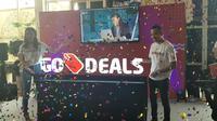 Aplikasi layanan transportasi ojek online, Go-jek sediakan fitur baru bernama Go-Deals yang menghadirkan banyak penawaran potongan harga.
