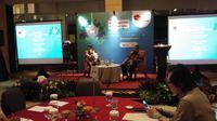Yayasan Kebun Raya Indonesia (YKRI) mengkumpulkan 100 orang peraih Kalpataru di berdiskusi mengenai isu lingkungan. (Liputan6/Ady Anugrahadi)