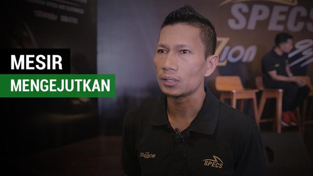 Berita video pendapat Kapten tim Persija Jakarta, Ismed Sofyan, soal Mesir di Piala Dunia 2018.
