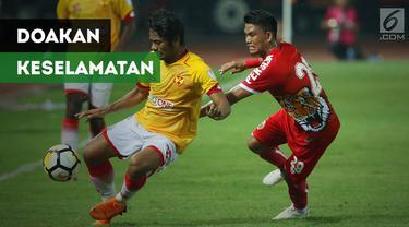 Pemain Persija Jakarta, Sandi Sute, mendoakan musibah gempa di kota Palu tidak sampai menimbulkan korban jiwa.