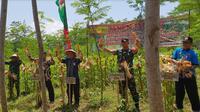 Direktur Irigasi Pertanian Ditjen Prasarana dan Sarana Pertanian (PSP) Kementerian Pertanian (Kementan) Rahmanto juga mengapresiasi upaya petani yang menggunakan sela-sela tanaman sengon untuk bertanam jagung.