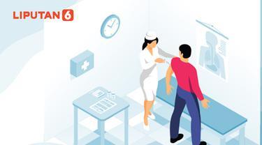 Ilustrasi penyuntikan vaksin Covid-19 (Liputan6.com / Abdillah)