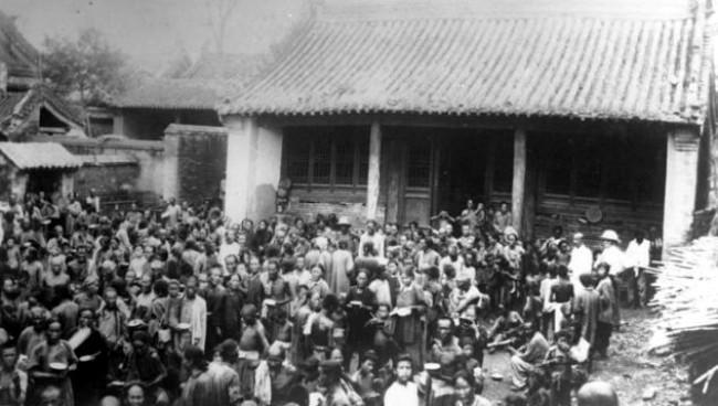 Banjir China 1931. (Sumber Bundesarchiv, Bild 102-1223/CC-BY-SA 3.0)