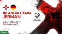 Kualifikasi Piala Eropa 2020 - Irlandia Utara Vs Jerman (Bola.com/Adreanus Titus)
