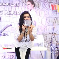 Foto profil Syahrini Launching Album (Andy Masela/bintang.com)