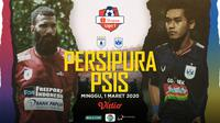 Shopee Liga 1 2020: Persipura Jayapura vs PSIS Semarang. (Bola.com/Dody Iryawan)