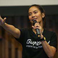 Media gathering film Gundala (Adrian Putra/Fimela.com)