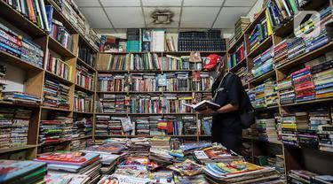 FOTO: Terimbas Pandemi, Angka Penjualan Buku di Tahun Ajaran Baru Menurun