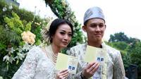 Pernikahan Rinni Wulandari - Jevin Julian (Deki Prayoga/bintang.com)