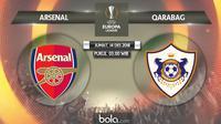 Liga Europa 2018 Arsenal Vs Qarabag (Bola.com/Adreanus Titus)