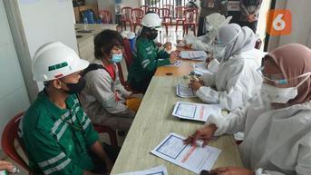 Awal November, 44 Ribu Pekerja PT IMIP Sulteng Rampung Divaksin Covid-19
