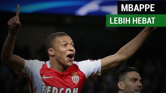 Berita video fakta Klylian Mbappe lebih hebat dari bintang Barcelona, Lionel Messi, dan pemain Real Madrid, Cristiano Ronaldo.