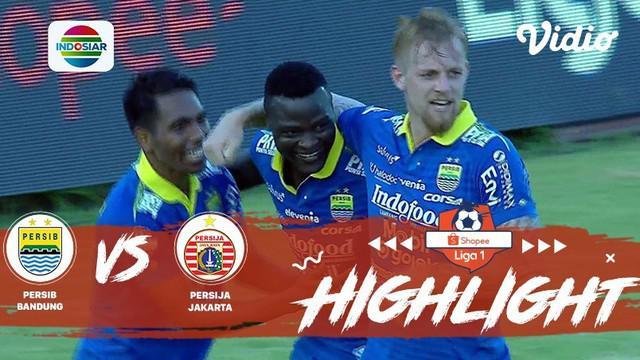 Berita Video Persib Tambah Keunggulan atas Persija Lewat Gol Ezechiel N'Douassel, 2-0