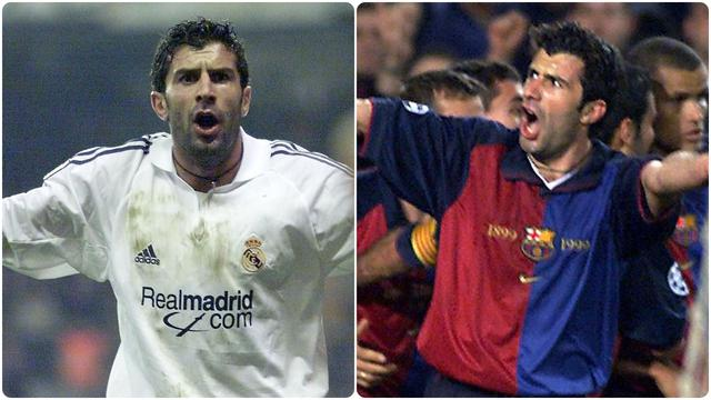 Luis Figo, Legenda Real Madrid Berlabel Penghianat Barcelona
