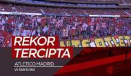 Berita video laga tim sepak bola putri Atletico Madrid vs Barcelona di Stadion Wanda Metropolitano, Madrid, mencetak rekor, Minggu (17/3/2019). Rekor apa yang tercipta?
