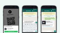 WhatsApp Business menambahkan fitur Kode QR untuk memudahkan konsumen terhubung dengan akun bisnis (Foto: WhatsApp)