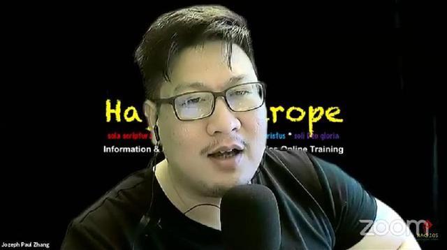 Jozeph Paul Zhang mengaku sebagai nabi ke-26 dalam akun Youtube pribadinya. (tangkapan layar Youtube)